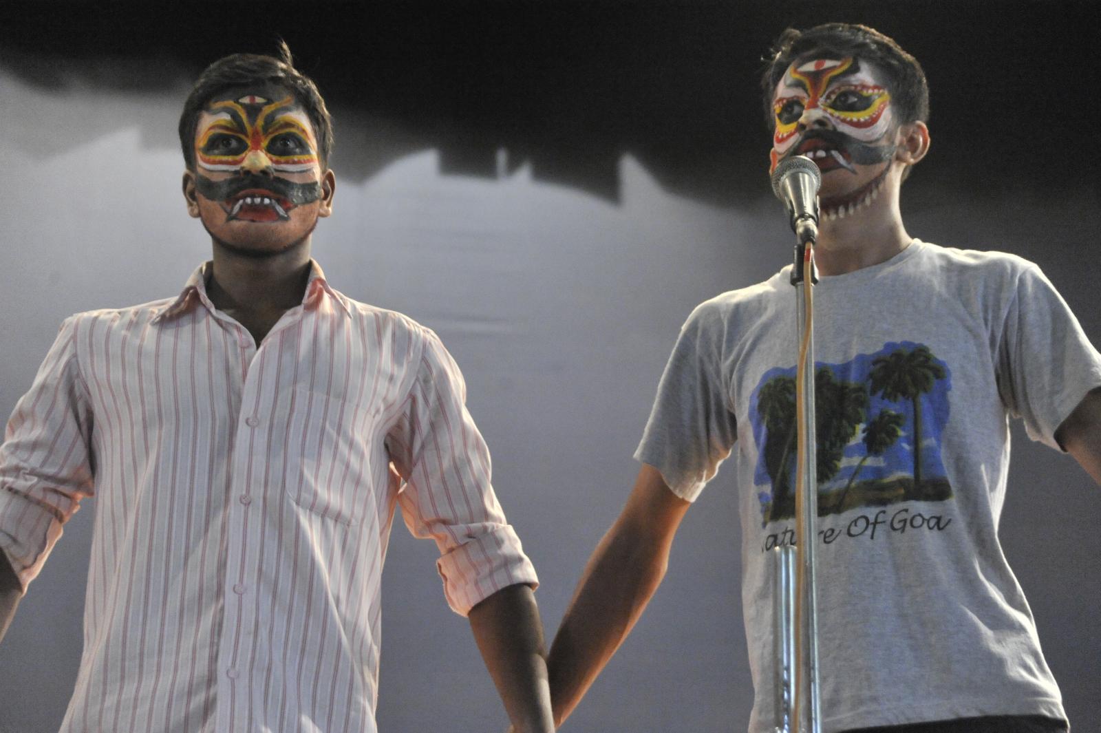 Yakshagana Make-up intensive - Shri M Ganapathi Hegde