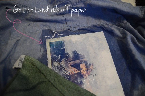 Mod Podge Photo Transfer Shirt