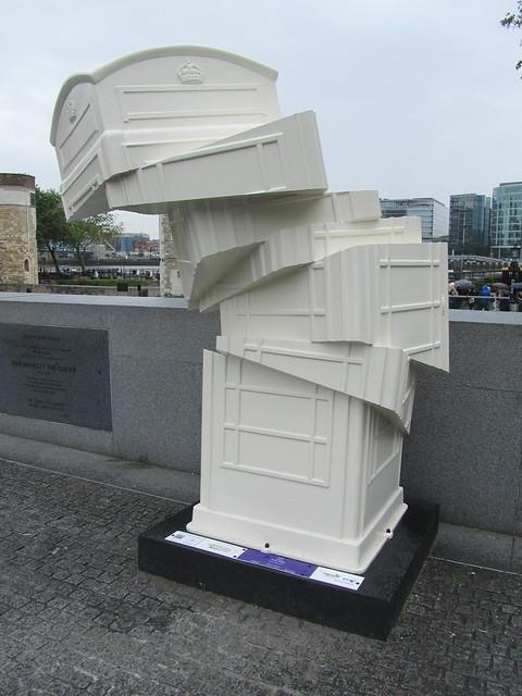 """68 - """"Slip"""" by Gerry Judah (Tower of London)"""