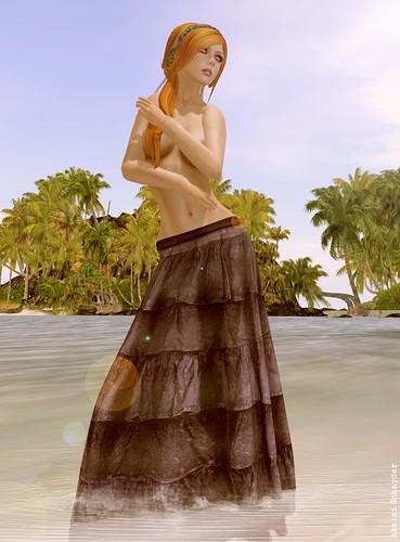 DRD - Boho Skirt - Ruffles