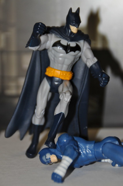 Batman curb stomps Wildcat