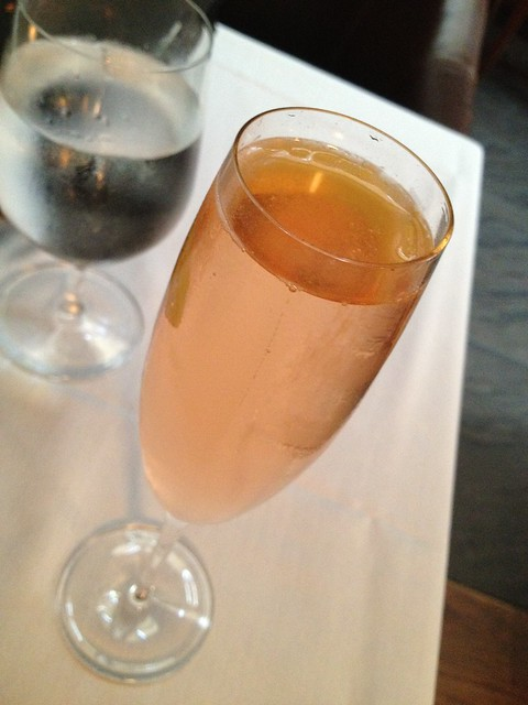 Sparkly Goat cocktail - McCrady's Restaurant