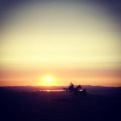 Sunset Over Fern Ridge
