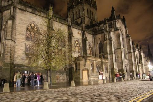 spooky looking church