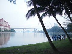 Nicoll Highway, Marina Reservoir, Kallang Park Connector