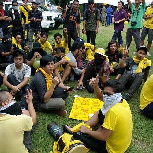 Bersih 3.0 Kota Kinabalu Anak Muda.