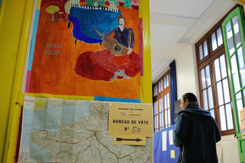 Le second tour de la Présidentielle - Bureaux de vote