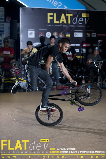 Suanno Makalai - Won 4th Place on BMX Flatland Pro Division