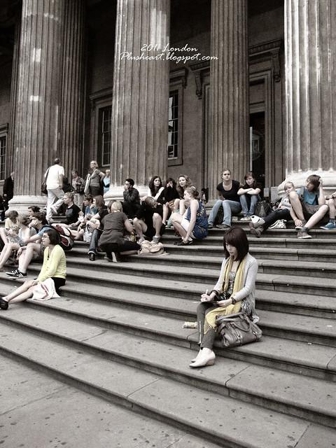 ▌London ▌ 逛大英博物館‧ 雨天正合適