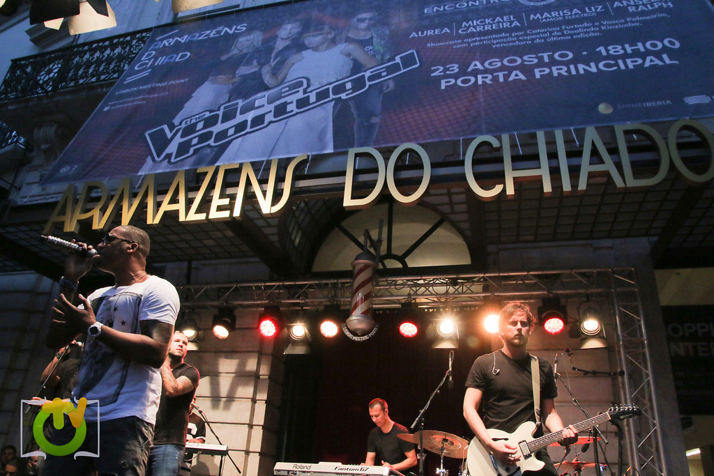 The Voice Portugal em ShowCase nos Armazéns do Chiado