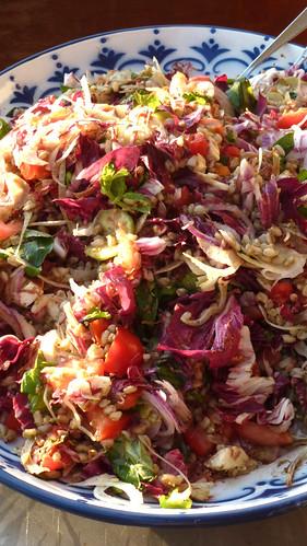 Insalata di Farro - Spelt salad