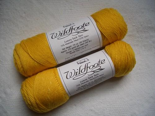 Brown Sheep Wildfoote - Lightening Lemon
