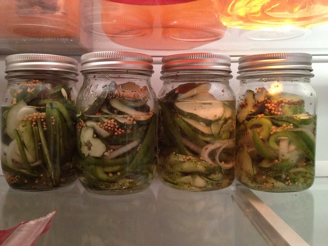 2 days after canning - do these fridge pickles need more vinegar?