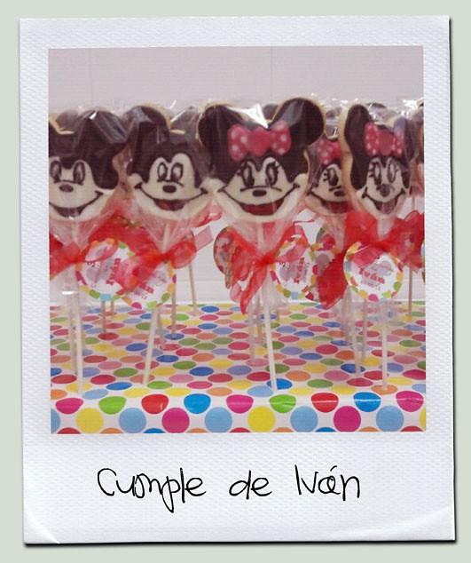 Galletas Mickey cumpleaños