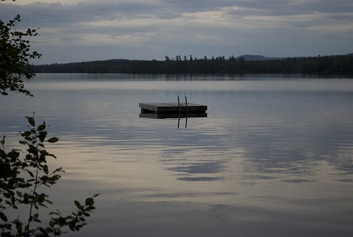 Squam lake, dusk