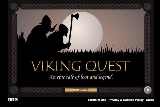 Viking Quest - Splash screen