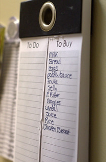 Make a Grocery List Before You Go (192/365)