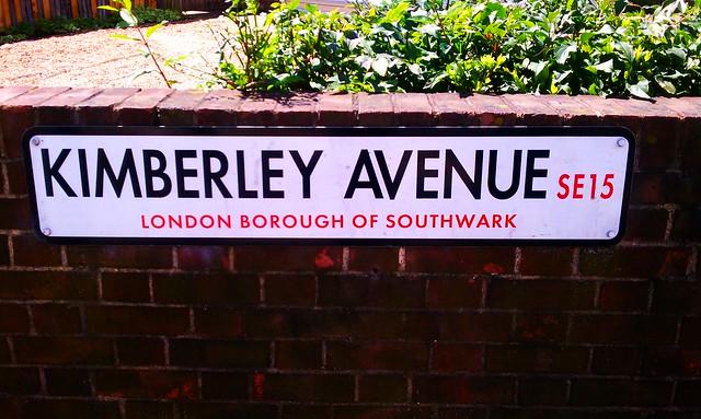 Kimberley Avenue in Peckham, London
