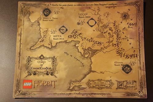 Map of ComicCondor