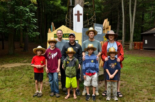 Father/Son Camp Event