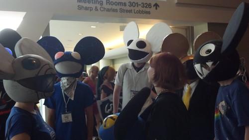 A Bunch of Deadmau5 at Otakon 2012