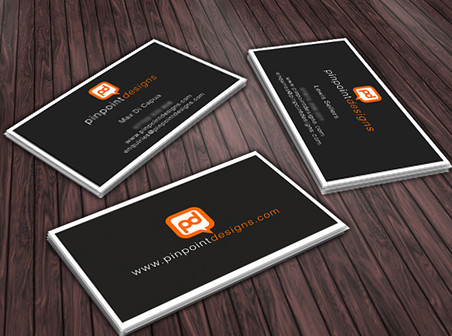 Pinpoint Designs Business Card
