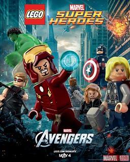 Lego Avengers Poster!