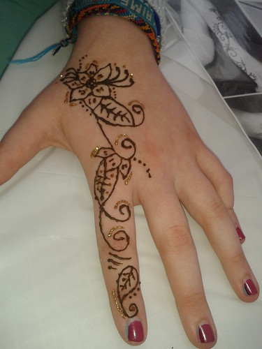 Henna hand no 3 by Sparkle Amina