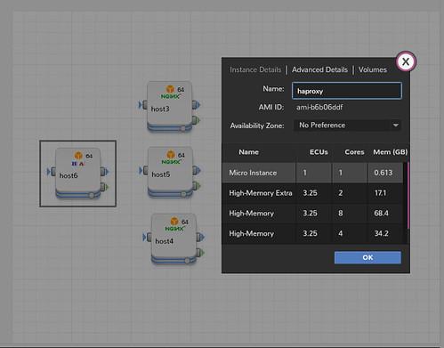 MadeiraCloud IDE host settings