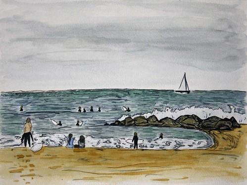 Surfers, Venice Beach