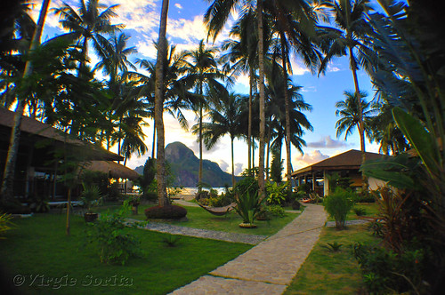 Cadlao Beach Resort, El Nido, Palawan