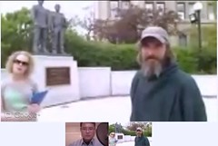 Pre-Ceremony intro:site test for Queen's Park Ontario Police Memorial this Sunday (May 6th) - pix 05