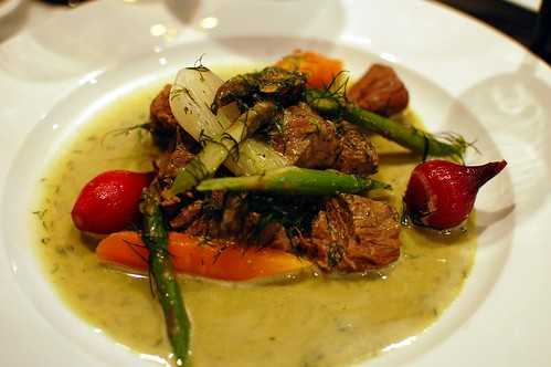 Stew of Veal in Dill Sauce