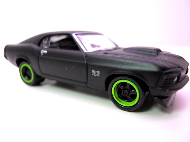 johnny lightning 1970 ford mustang boss 429 blk (3)