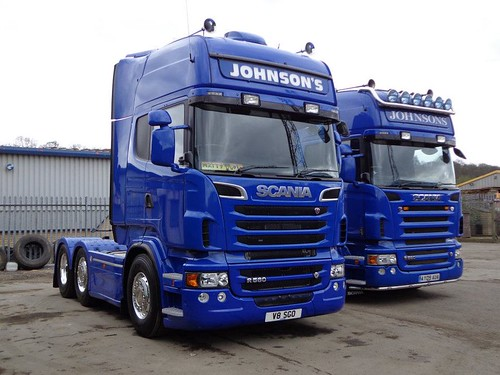 Matthew Johnsons Scania R560