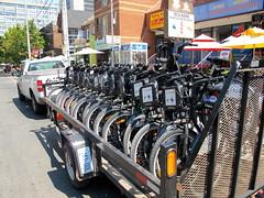Bixi Bike Truck