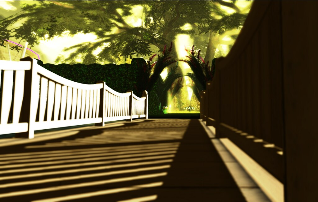 American Cancer Society in SL: ACS Memorial Garden entrance