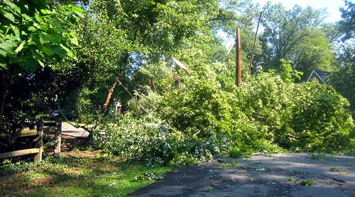 20120630 0856 - storm damage while yardsaleing - impossibru yardsale lies beyond - IMG_4530