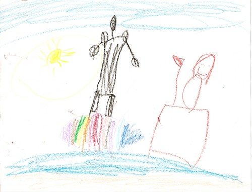 By Maria (Age 5) - July 24, 2012 by chadjane