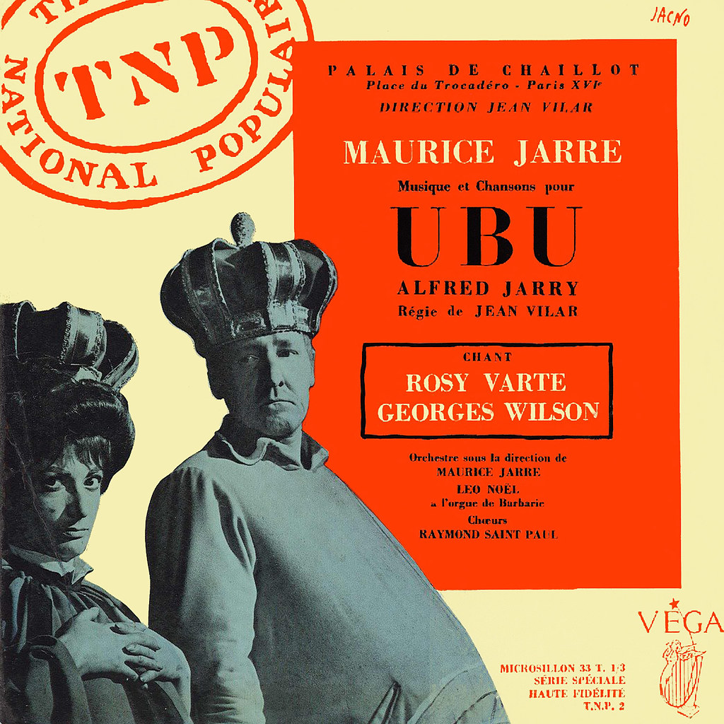 Maurice Jarre - Ubu
