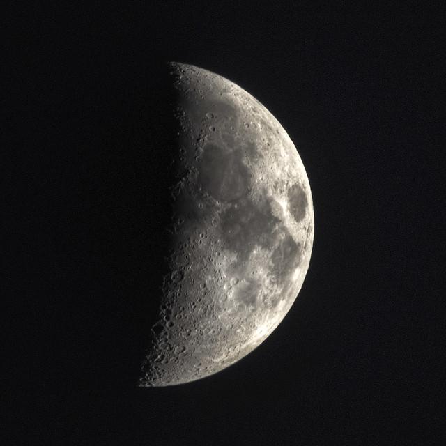HDR Moon 28 April 2012