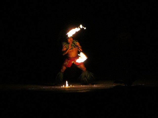 Samoan Fire Knife Dance