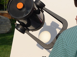 Transit of Venus Jun 5, 2012 7-47 PM