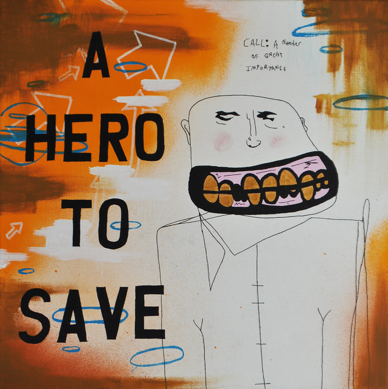 A hero to save