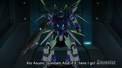 Gundam AGE 4 FX Episode 40 Kio's Resolve, Together with the Gundam Youtube Gundam PH (11)