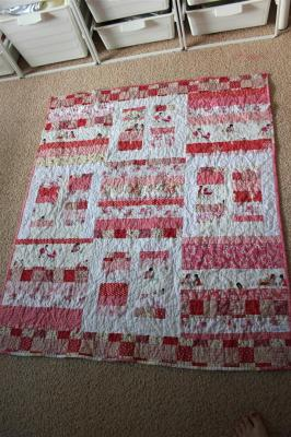 My Niece's new quilt