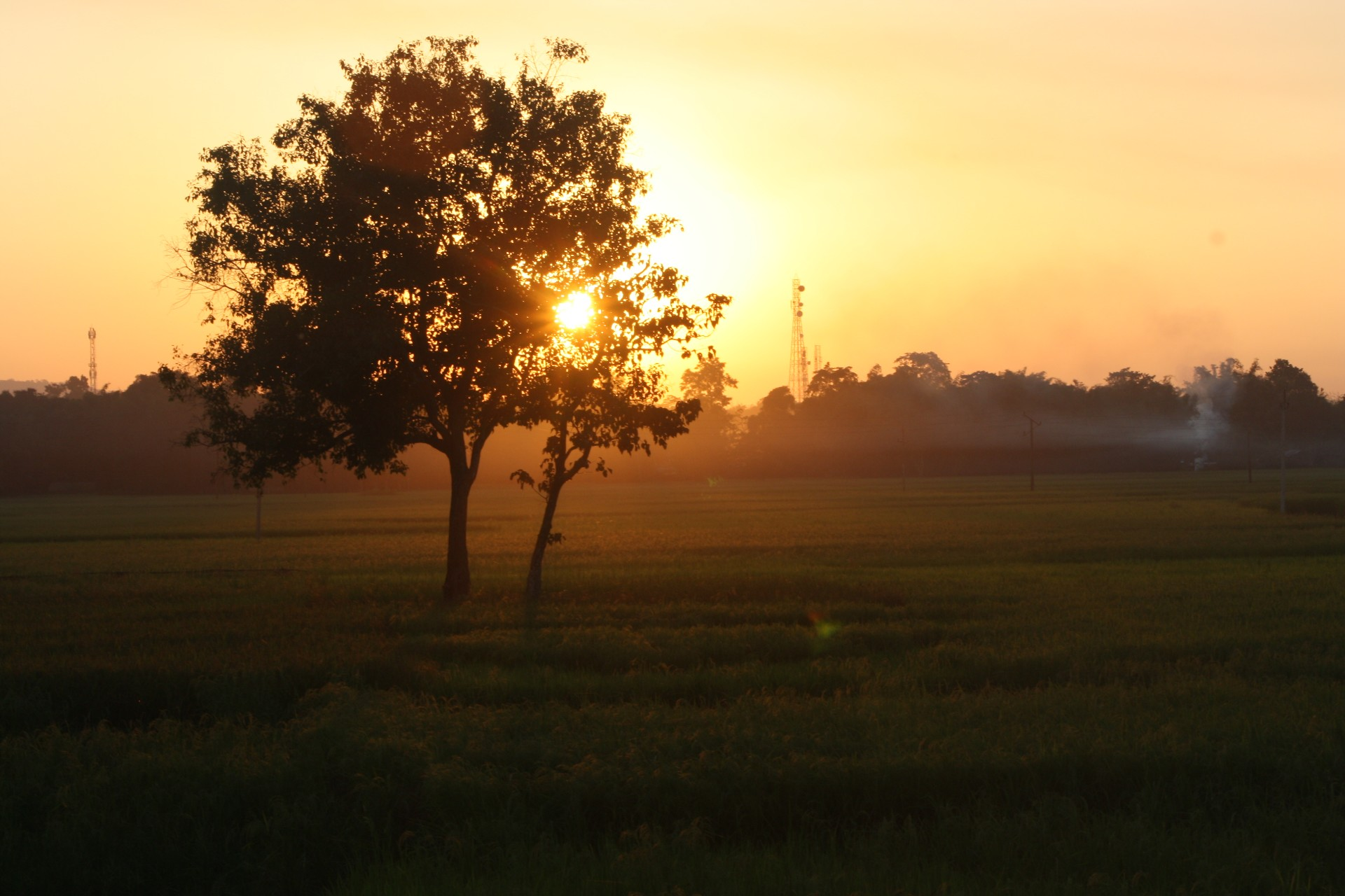 Sunset- from National Highway