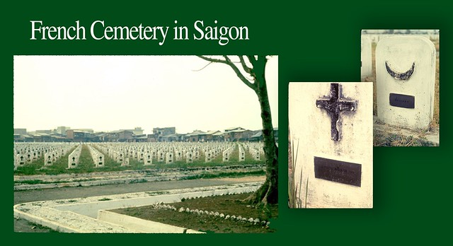French Cemetery in Saigon