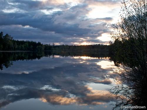 Sunset Holmsjön