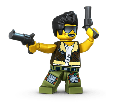 LEGO Monster Fighters Frank Rock